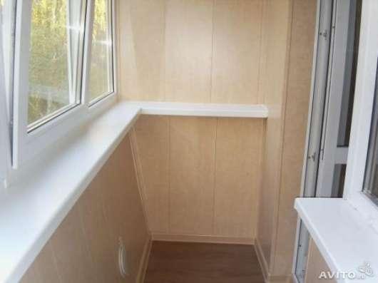 Отделка балконов, лоджий