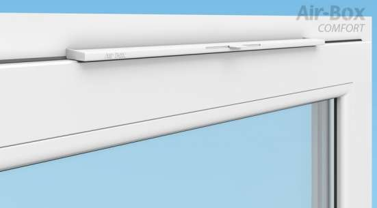 Вентиляционные клапаны на окна