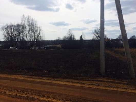 Земельный участок 20 соток в деревне Вяземское, Можайский район, 109 км от МКАД по Минскому шоссе.