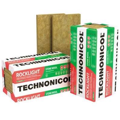 Каменная вата Технониколь Роклайт 1200*600*100мм