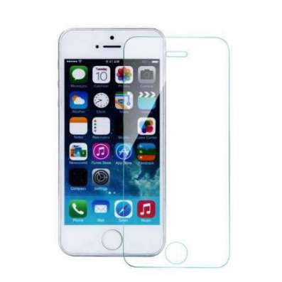 Защитное противоударное стекло на iphone 5 5s