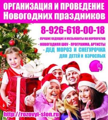 Поздравление от Деда Мороза в Солнечногорске.