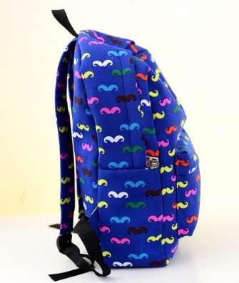 Рюкзак синий усы