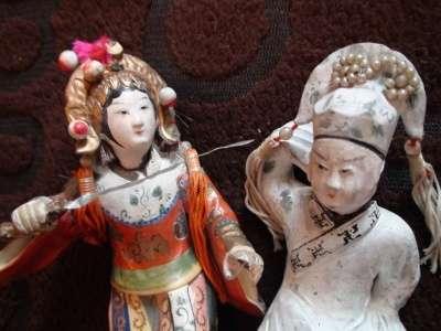 сер.19в статуэтки Китайские девушки 2шт. в Санкт-Петербурге Фото 2