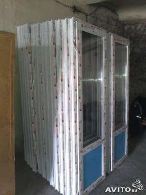 Новые двери ПВХ балконные в Омске Фото 1