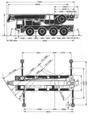 Автокран Кранлод Ltm-1050-4