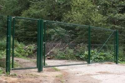 Ворота распашные Gardis