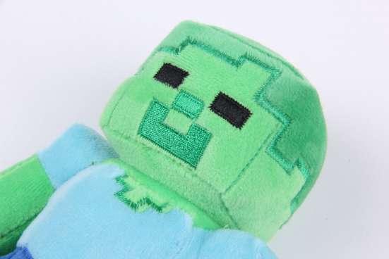 Мягкая игрушка Зомби (Майнкрафт) в Перми Фото 5