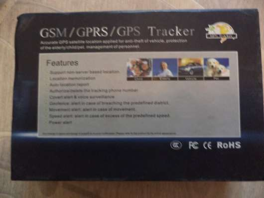 Трекер GPS/GPRS