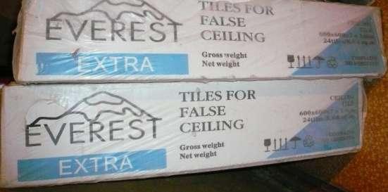 Плитка подвесного потолка everest extra. В упаковке