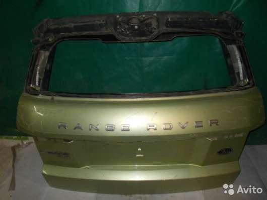 Крышка багажника на Land Rover/Range Rover Evoque