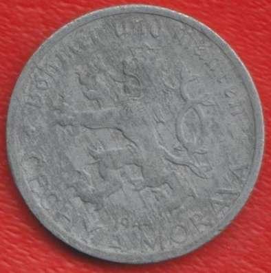 Чехословакия Богемия и Моравия 50 геллеров 1944 г
