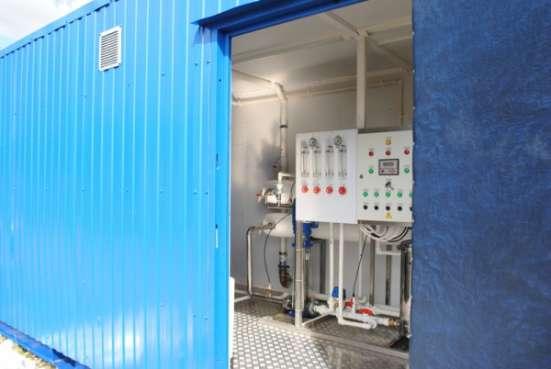 Блочно-модульная станция водоподготовки питьевой воды Сокол. Проектирование. Монтаж