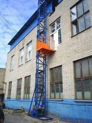 Мачтовый подъёмник в Москве Фото 2