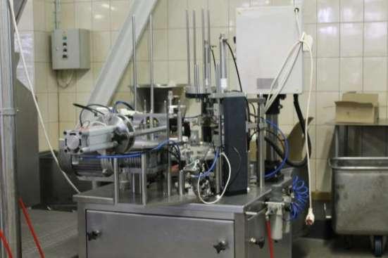 Оборудование б/у для производства молочной продукции