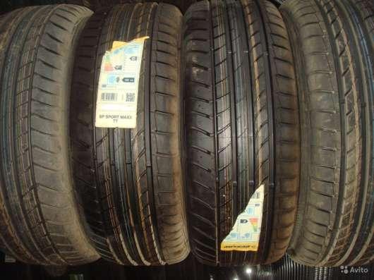 Новые немецкие Dunlop 225/55ZR17 макс тт