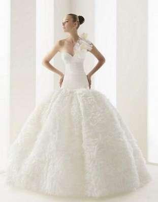 Белое свадебное платье Rosa Clara