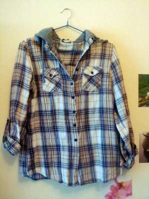 Рубашка-кенгурушка от new look