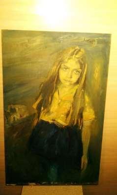 Картина 'Девочка ', масло