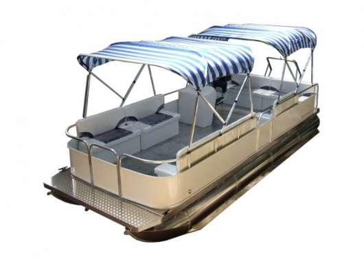 """Понтонный катер """"Турист-720"""", моторный понтон, понтонная лодка"""