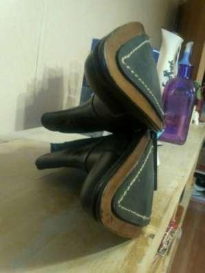Высокие ботинки новые кожа COT.T