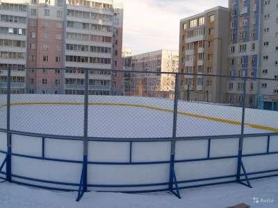 Хоккейная коробка производство и монтаж