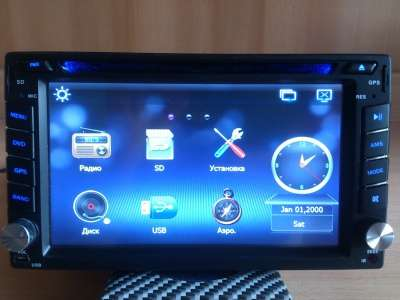 Автомагнитола 2DIN мультимедийная GPS