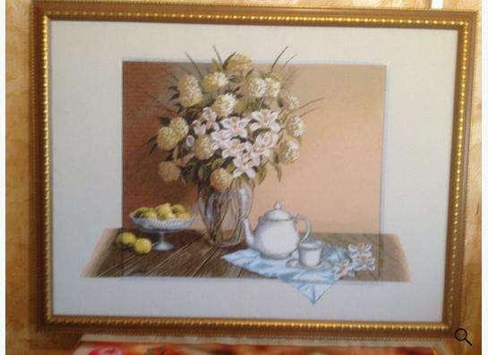 """Картина """"Полуденный чай"""""""