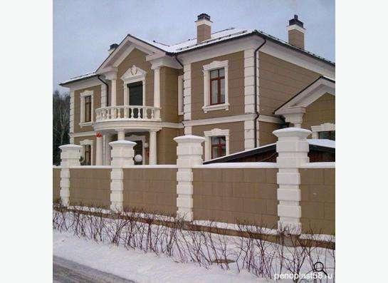 дизайн проектирование фасадов для отделки лепниной предлагаю