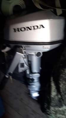 4 тактный мотор Honda 5л. с