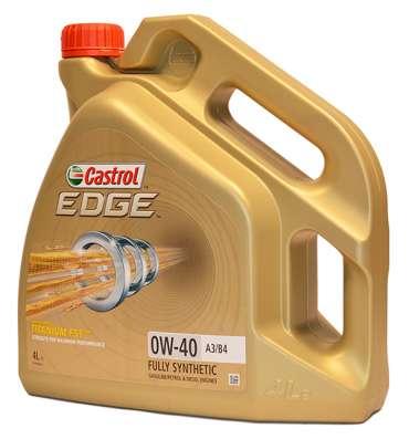 Масло CASTROL EDGE 0W40 A3/B4 TITANIUM FST 4л синтетическое