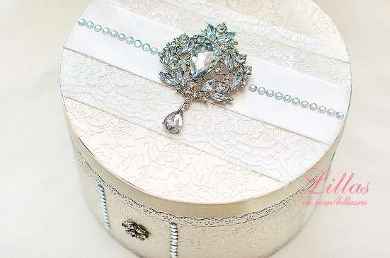 Белая свадебная папка для свидетельства о браке в Екатеринбурге Фото 3