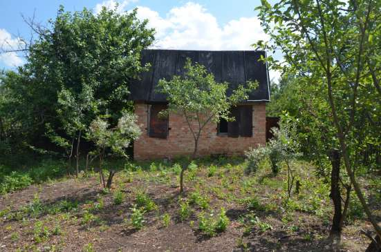 Продаю дачный участок 6 соток с недостроенным кирпичным домо
