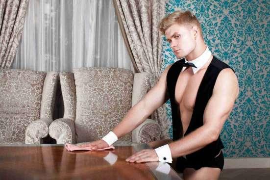 Мужская эротическая уборка в Москве Фото 1