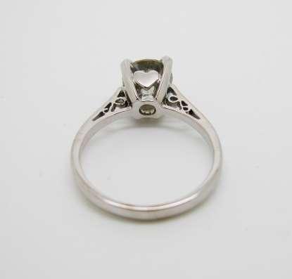 Кольцо с бриллиантом 1.52 карата