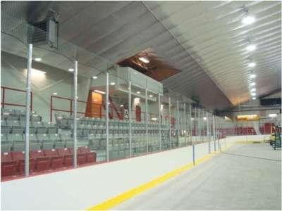 Стекла для хоккейных коробок