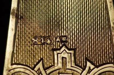Крест напрестольный серебряный. 1884 год мастерская Шелапутина Дми в Санкт-Петербурге Фото 2