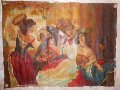 Картина «Октябрьский праздник в Риме»