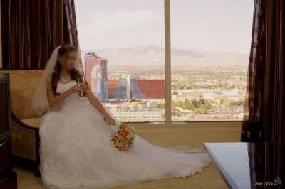 свадебное платье David's Bridal в Иркутске Фото 1