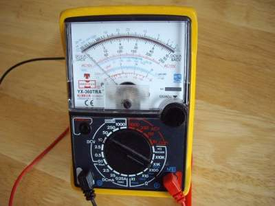 Мультиметр Mastech YX-360TRA Аналоговый