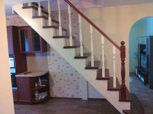 Деревянные лестницы в Иркутске Фото 2