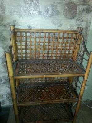 Бамбуковая мебель в Краснодаре Фото 1