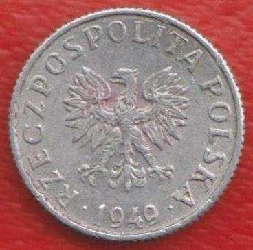 Польша 1 грош 1949 г в Орле Фото 1
