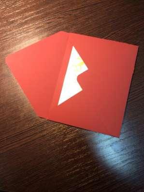 Изготовление конвертов на заказ конверты от 1 шт