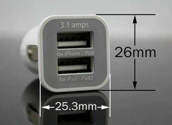 2-портовый адаптер мини-USB