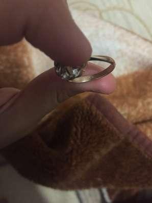 Кольцо старинное бриллиантовое 583проба