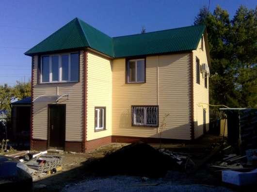 Строительство домов, бань, крыш, отделка под ключ. Вся Со