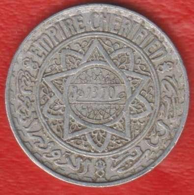 Марокко Французское 5 франков 1951 г.