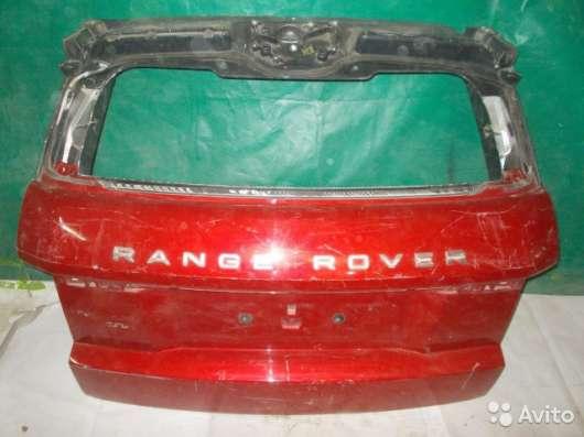 Крышка багажника Lange Rover Evoque - Красная