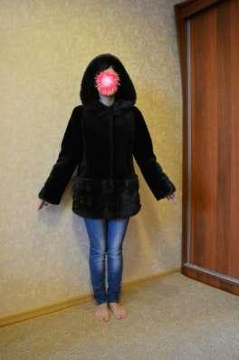 шуба мутоновая, кожаная куртка